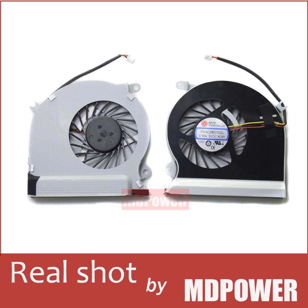 где купить  Brand new original FOR MSI GE70 laptop cooling fan the original PAAD06015SL 0.55A 5VDC  дешево