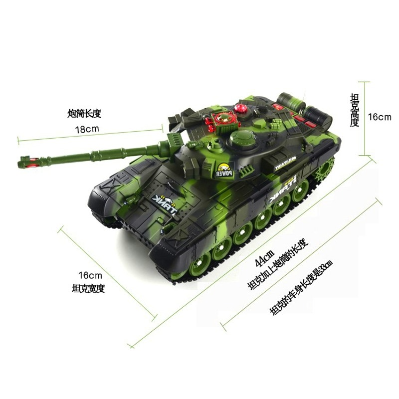 Remote Control Tank Model Super Parent-child Play Children Emission Charge Movable Cross-country Car Toy Boy control of large tanks against the remote car tank model child boy toy cars ready to go plastic battery operated
