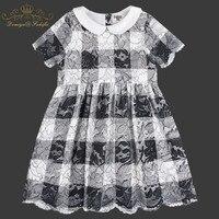 2019 Spring/Summer Kid Wear Fashion Brand Children Clothing Flora Lace Dress Vestidos Toddler Newborn Baby clothes Girls Dress