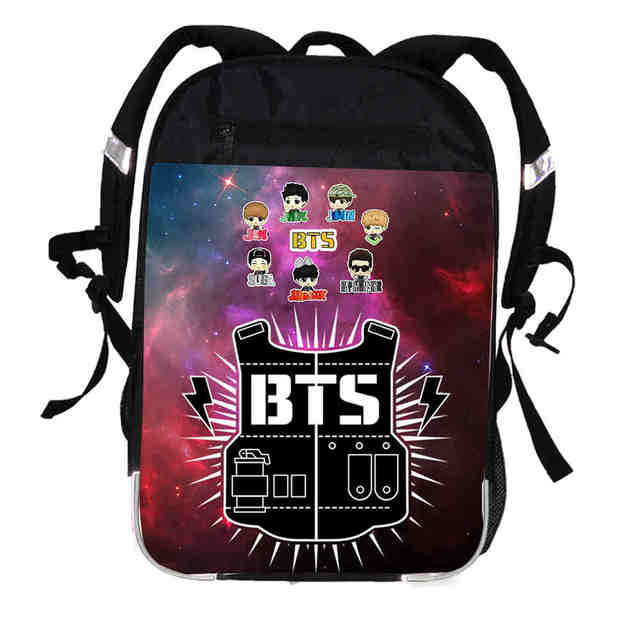 BTS 3D BACKPACK (27 VARIAN)