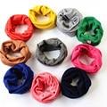 2017 de La Moda de Primavera Otoño Invierno Bufanda Del Bebé niños Niño Niña niños de la bufanda bufandas de algodón O ring bufanda de cuello