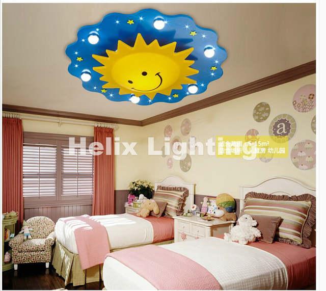 Online Shop Free Shipping Children Ceiling lamps Kids Bedroom light ...