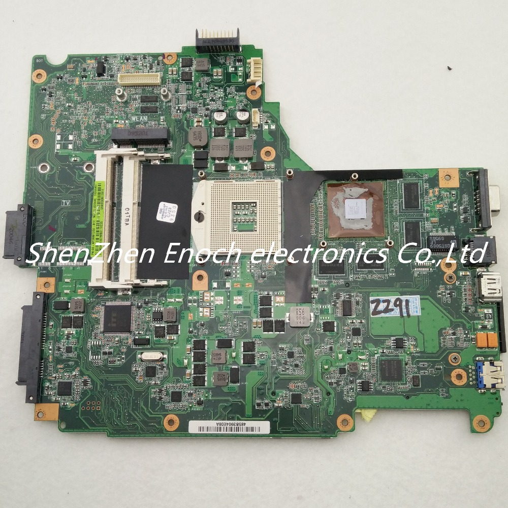 N61JA motherboard for ASUS Laptop with graphics 60-NY9MB1200-B1E N61JA MAIN BOARD stock No.027