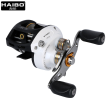 Haibo STEED Baitcasting Reel 8+1 BB Fishing Reel Left/right hand All metal Centrifugal Bait casting Fishing Wheel