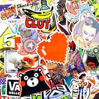 5000pcs Stickers Mix Style Funny Cartoon Decal Fridge Doodle Snowboard Luggage Decor Jdm Brand Car Bike Toys DHL/UPS/SHUNFENG