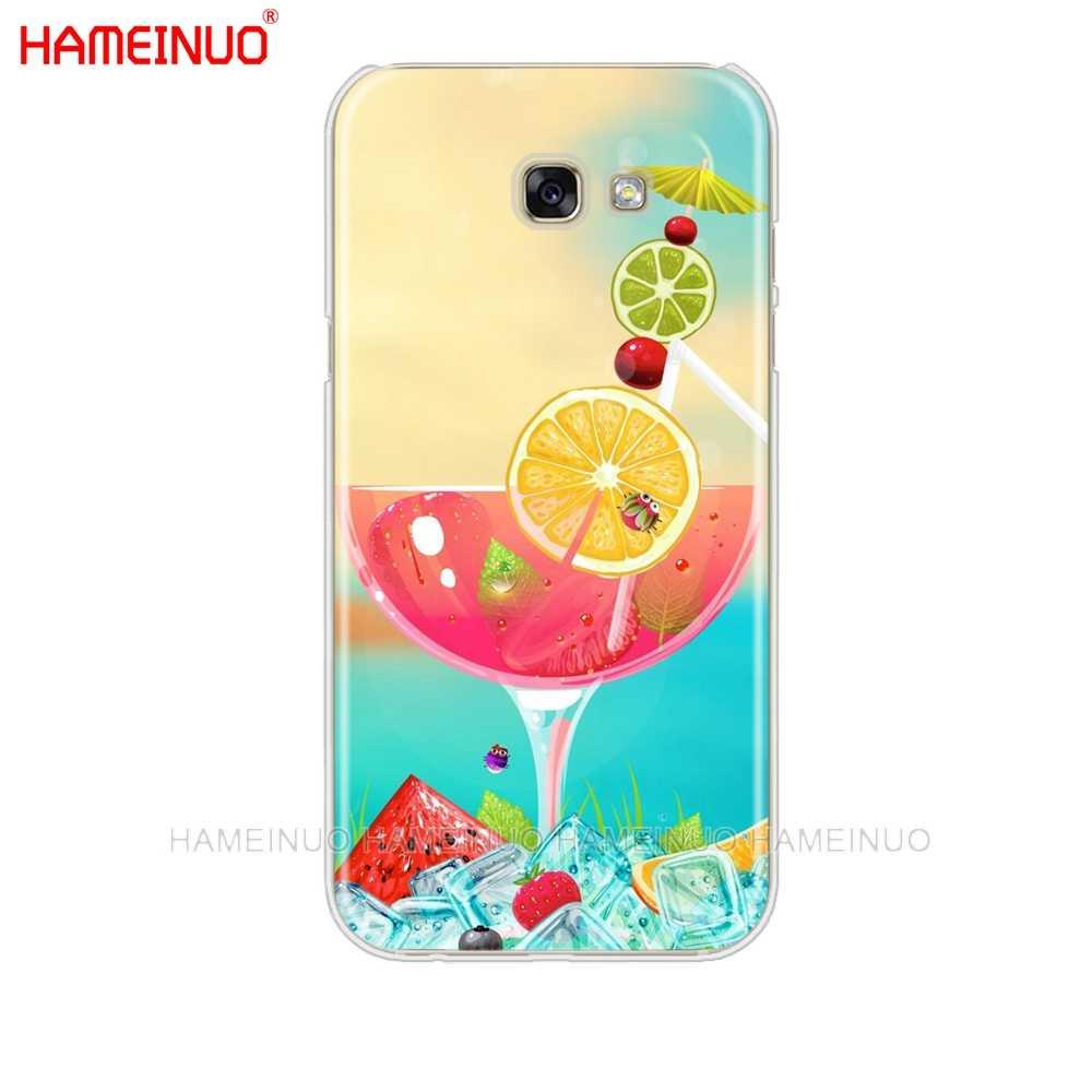 HAMEINUO lato plaża fala morze telefon komórkowy skrzynki pokrywa dla Samsung Galaxy A3 A310 A5 A510 A7 A8 A9 2016 2017 2018