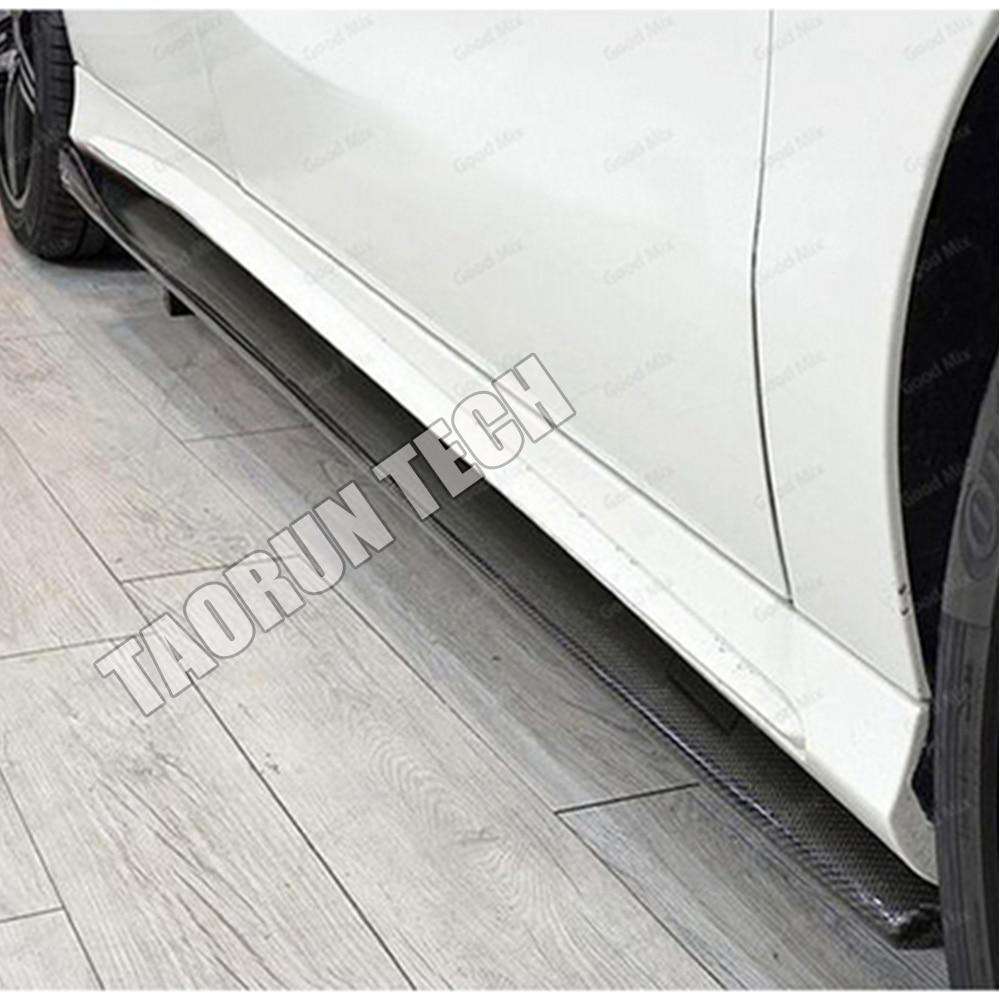 Cla 45 & A45 Saia Lateral em Fibra de Carbono Real para Bezn W176 - Peças auto - Foto 2