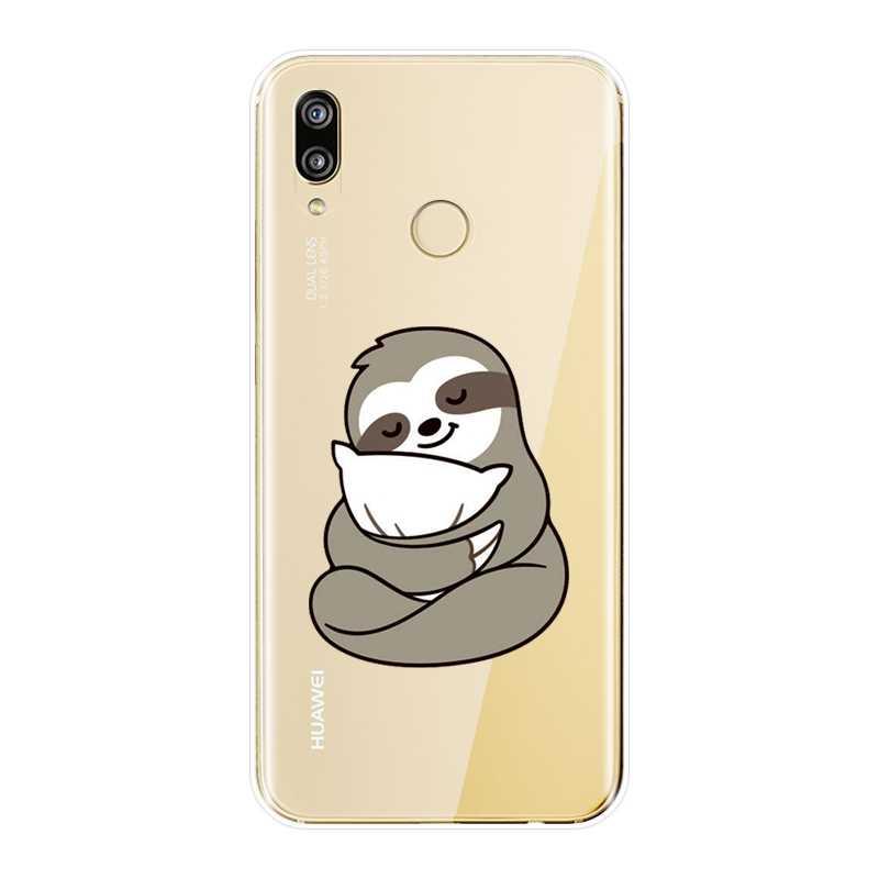 Kawaii caja del teléfono de silicona para Huawei P9 Lite Mini P10 más P20 Pro P inteligente espalda suave funda para Huawei P8 P9 P10 P20 Lite 2017