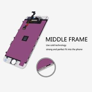 Image 3 - 20 ピース/ロットグレード A + + + デッドピクセルの Lcd iphone 6 Lcd スクリーンディスプレイデジタイザー交換 & 送料無料 dhl 経由