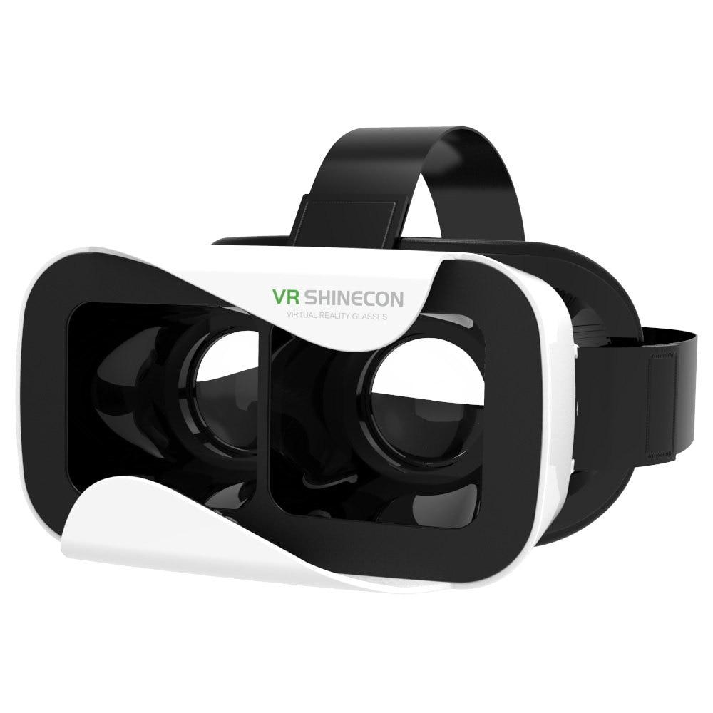 <font><b>VR</b></font> <font><b>Shinecon</b></font> <font><b>III</b></font> 3D <font><b>Glasses</b></font> Virtual Reality Headset Private Theater Game Video <font><b>for</b></font> <font><b>4.7</b></font> - <font><b>6.0</b></font> inch Smartphone