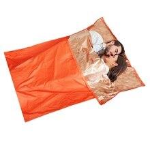 Ultralight Survival Emergency Sleeping Bag Camping First Aid Bags Double Warming Watrproof  bag