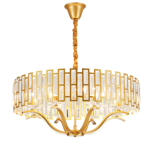 Image 1 - โมเดิร์นโมเดิร์น LED luxury K9 คริสตัลโคมระย้าแสงห้องนั่งเล่น Gold แขวน Nordic ห้องนอนโคมไฟรับประทานอาหารติดตั้ง