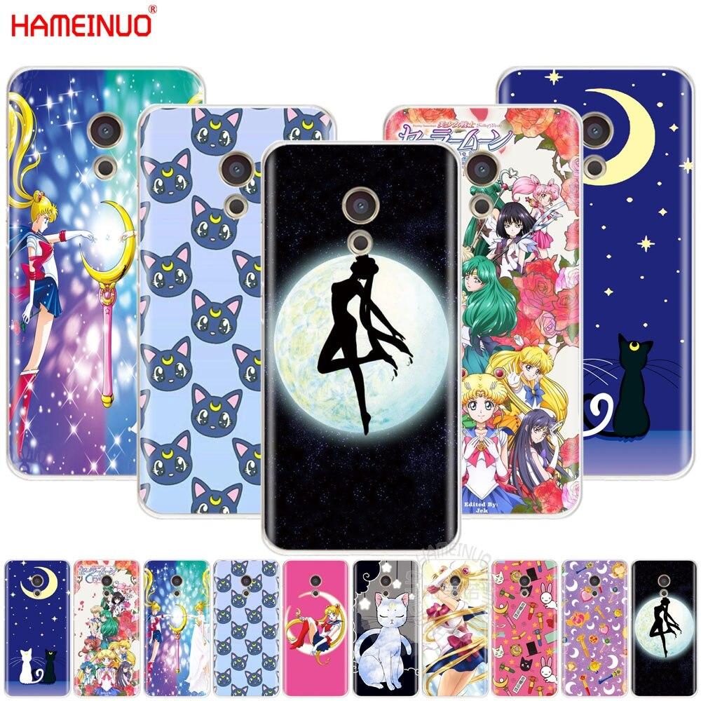 Hameinuo Сейлор Мун девочек крышка телефона чехол для Meizu M6 M5 M5S M2 M3 M3S MX4 MX5 MX6 Pro 6 5 U10 U20 Примечание плюс