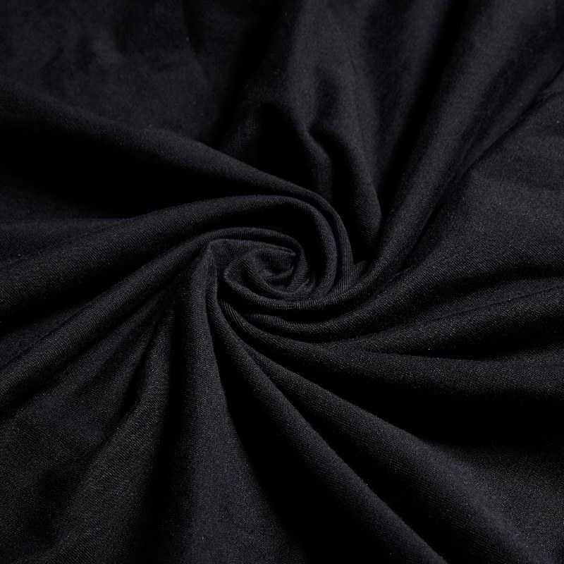 ee1e2e26d6bb ... PUNK RAVE Punk Black Bone Ghost Film Printing Dresses Rock Loose Bat  Sleeve with Cap Women