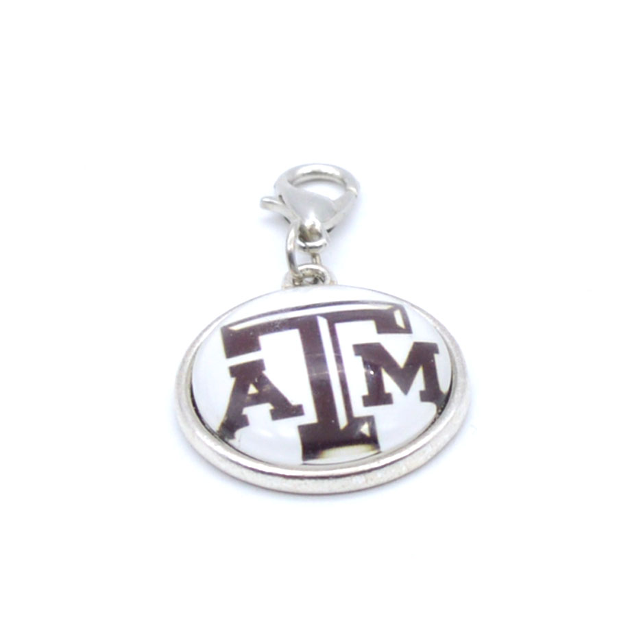 Pendant Accessories NCAA Texas A&M Aggies Charms Accessories for Bracelet Necklace for Women Men Footbal Fans Paty Fashion 2018