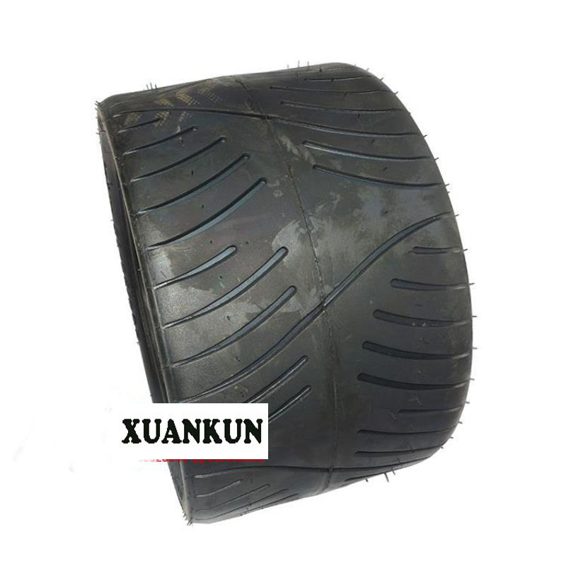 XUANKUN Inverted Three Rounds Of Beach Car Hub 12 Inch Tires Beach Car 205 / 30-12 Inch Flat Tire xuankun four rounds of beach car karting modified parts motorcycle rear axle assembly rocker drag three disc brakes