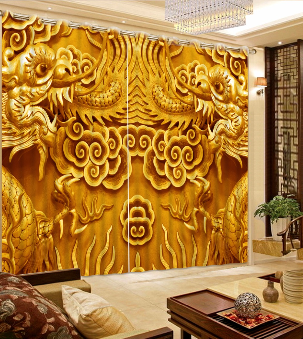 3d curtains Chinese relief noble Royal family 3D curtains Used for hall bedroom window curtains   3d curtains Chinese relief noble Royal family 3D curtains Used for hall bedroom window curtains