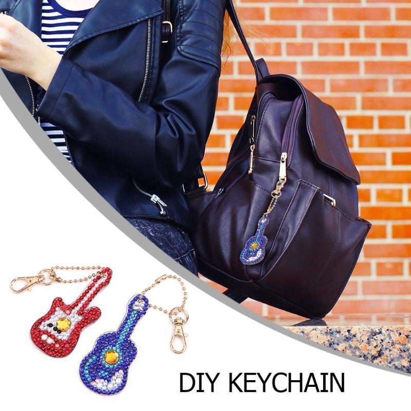Big Sale] 2/4/5/6pcs DIY Diamond Key Chain Special Shaped