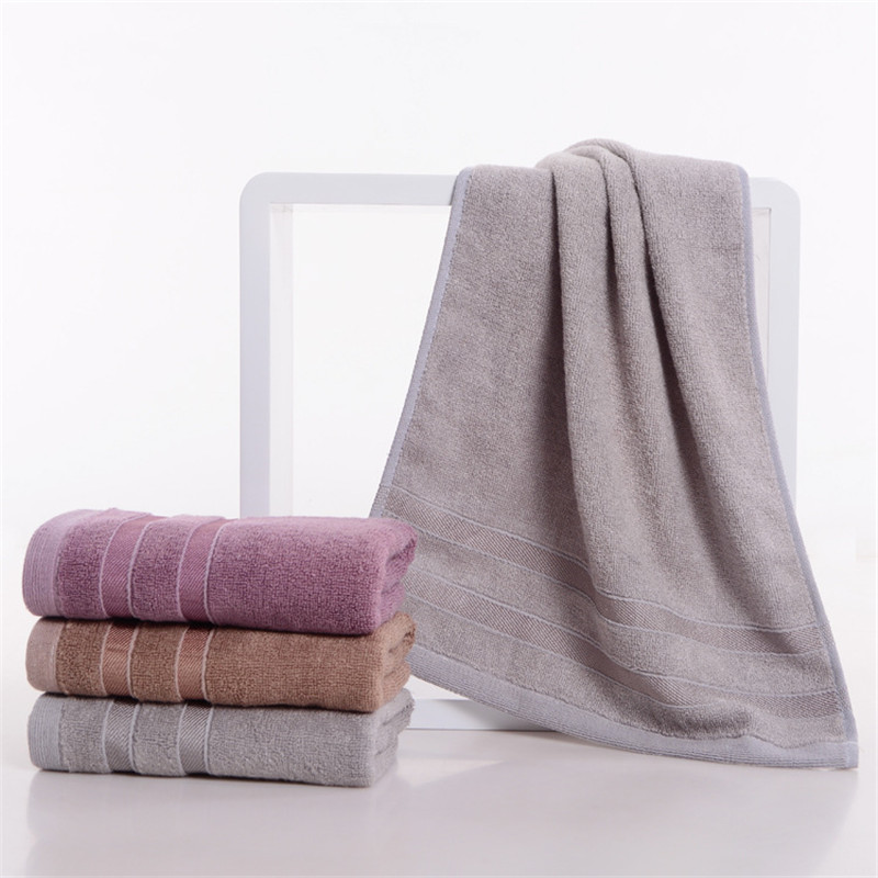 Bamboo towel high quality luxury gift towel 34x74cm 100% bamboo fiber fabric towel fast drying soft comfortable skin feel