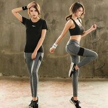Новинка модная одежда для йоги три предмета женский спортивный