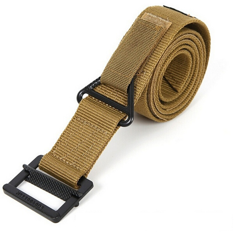 Outdoor Tactical Belt Men Duty Belt Combat Rescue Outdoors Nylon Tactical Belt CQB Military Combat Rescue Rigger image
