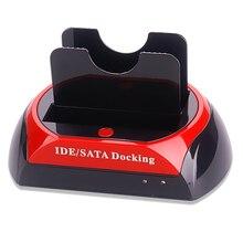 Многофункциональный жесткий диск база 2.5 «3.5» два слота USB 3.0 SATA IDE HDD док-станция жесткий drive Card Reader