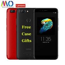 Lenovo S5 K520 телефонном глобальном версия Смартфон Android мобильного телефона 2160*1080 4 GB 64 GB 13MP Восьмиядерный Face ID 5,7 «отпечатков пальцев
