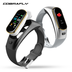 COBRAFLY H109 smart watch kleur screen smart band bloeddruk hartslagmeter smartwatch smartband voor Android IOS