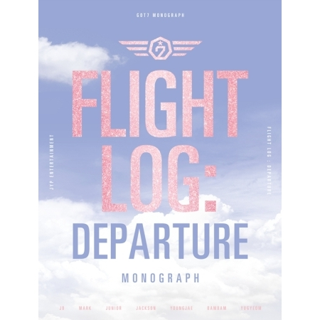 GOT7 - FLIGHT LOG: DEPARTURE GOT7 MONOGRAPH + 150p Photobook + 8 sheets of Photo Postcard + Making Release 2016.06.14 [pcmos] 2017 new kpop got7 necklace titanium steel jackson jb youngjae bambam mark flight log fly free shipping 16051420
