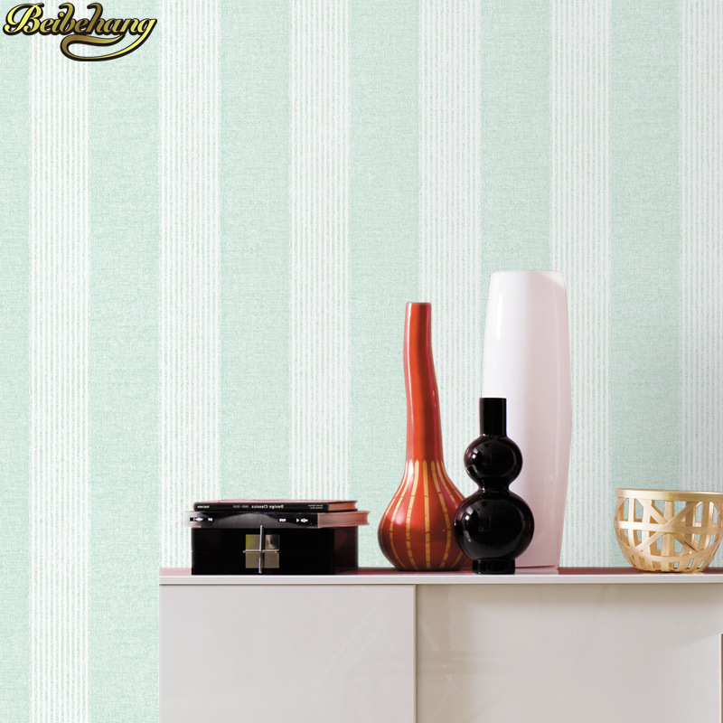 beibehang Mediterranean vertical stripes Wall Papers Home Decor Imitation wallpaper for walls 3 d living room bedroom wallpapers beibehang shop for living room bedroom mediterranean wallpaper stripes wallpaper minimalist vertical stripes flocked wallpaper page 1