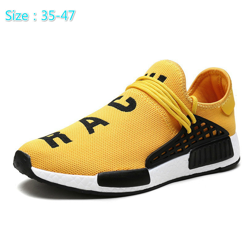Men Outdoor Trainers Zapatillas Deportivas Hombre Tenis masculino adulto Breathable Casual Superstar Shoes Human Race Shoes colors quality metallic zapatillas deportivas mujer mujer hombre low top trainers leather gladiator flats led shoes men shoes