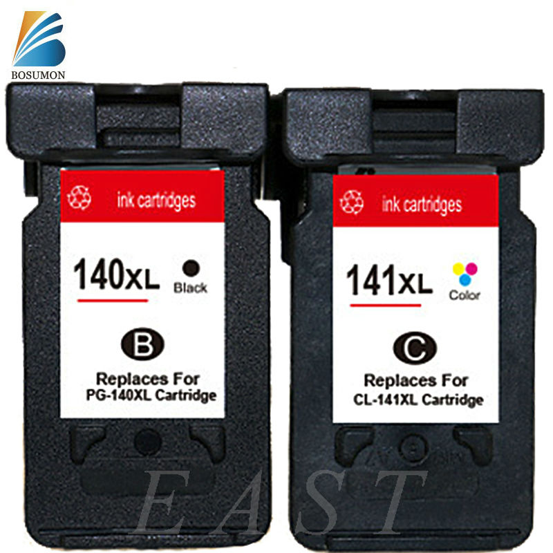 ФОТО For Canon PG-140 CL-141 PG140 CL 141 Ink Cartridges  For  MG2580 MG2400 MG2500 IP2880, For Canon PG 140 CL141 factory wholesale