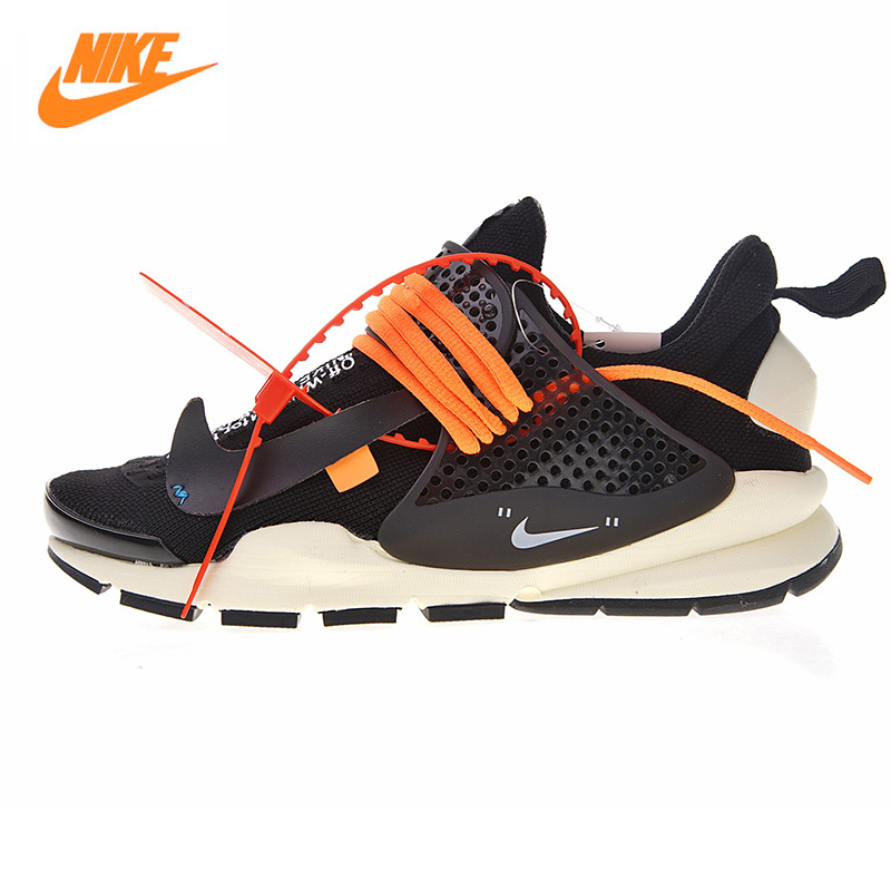 Nike La Nike Sock Dart X Off-White Mens and Womens Shoes, Black/White, Shock Absorption Breathable 819686 053 819686 058 ...