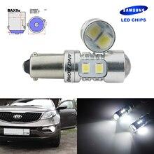 ANGRONG 2x H6W BAX9s 433 10 SMD SAMSUNG светодиодный лампы боковые Парковка свет лампы для BMW 3 серии
