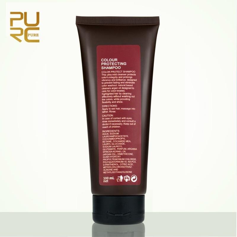 PURC Hair Treatmen Set Replenishes Moisture Color Repair Dry Damaged Hair Color Protecting Make Hair Smooth Soft Hair Care Set