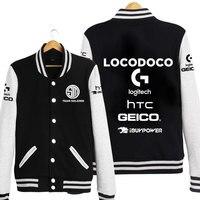 TSM SoloMid Doublelift Hauntzer Bjergsen Hoodies LOL S6 Team Baseball Jacket Coat Sweatshirt Autumn Hoodie For