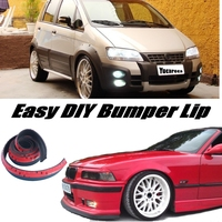 Bumper Lip Deflector Lips For Fiat Idea 2003~2015 Front Spoiler Skirt For Car View Tuning / Body Kit / Strip