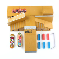 Skate Park Ramp Parts for Fingerboard Finger Board Ultimate Parks 91C