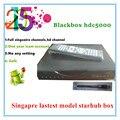 2016 caja de starhub reciente singapur qbox receptor hd qbox hdc4000 5000hdc con cuenta icam libre todos los canales de actualización negro