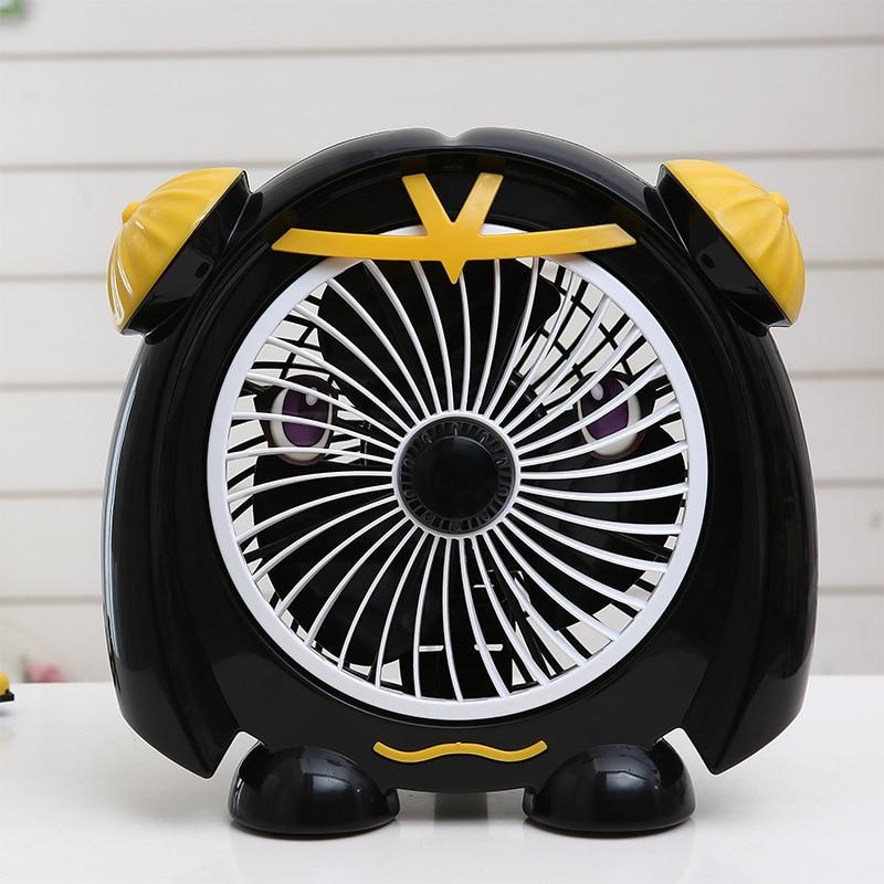 Begeistert Schwarz Farbe Hund Form Elektrische Fan 220 V Desktop Typ Elektrische Fan Mit 3 Mt Erweitert Linie Nette Form 2 Getriebe Fan Eu/au/uk Stecker Kleine Klimaanlage Geräte