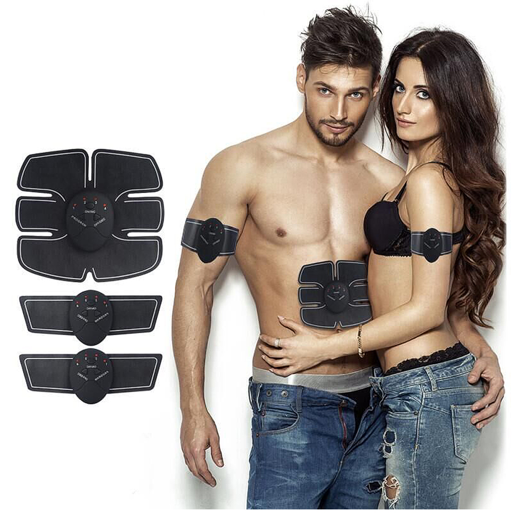 Body Slimming Massager Abdominal Muscle Training Wireless EMS Stimulator Device Gym Professinal Home Fitness Beauty Gear