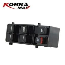 цена на KobraMax Power Master Window Lifter Switch Door Lock Switch For Honda 4 Door Accord 2003-2007 35750-SDA-H12 35750SDAH12
