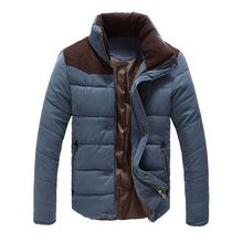 2018 Men Thick High Quality Autumn Winter Warm Windbreak Jacket
