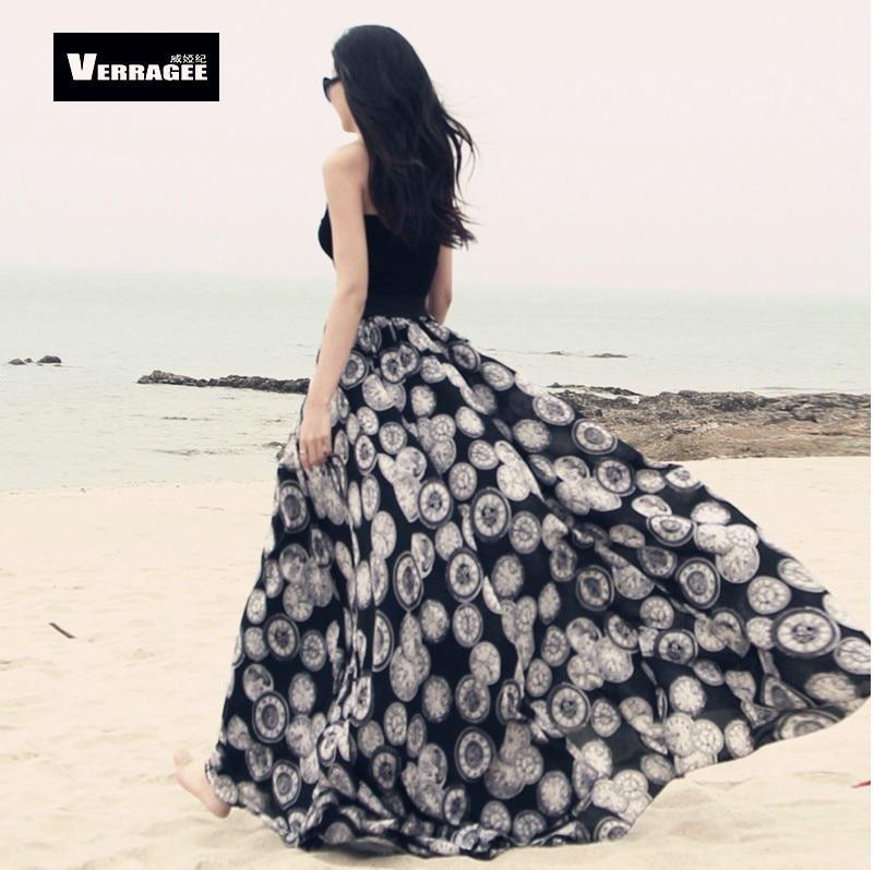 Aliexpress.com : Buy 2017 Fashion women's summer long skirt ...