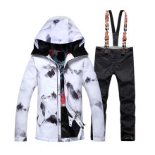 New 2018 Gsou Snow Ski Suit Female Snowboard Suit Snow Jacket and Pants Womans Ski Clothing