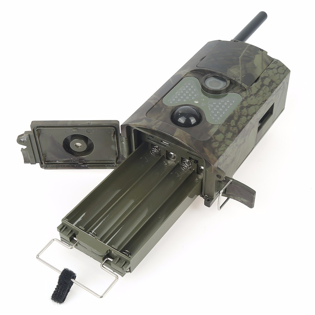 16MP Photo Traps HC550M 2G GSM 1080P Night Vision Hunting Traps Wild Hunting Camera Trail Camera Wildlife Camera chasse16MP Photo Traps HC550M 2G GSM 1080P Night Vision Hunting Traps Wild Hunting Camera Trail Camera Wildlife Camera chasse