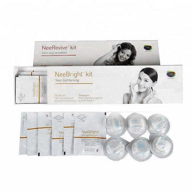 Glowskin O+ & Nee Revive / Nee Bright GeneO+ Oxygen Beauty Machine Use Set 4 Kinds Skin Rejuvenation and Brightening