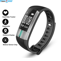 Time Owner G20 Smart Band PPG ECG Monitor Bracelet Blood Pressure Fitness Activity Tracker Wristband Pulse Meter For iPhone IOS