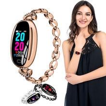 Smartwatch dames New E68 smart female watch women ladies Ip67 heart rate blood pressure oxygen connected