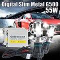 1 set H4 bixenon lamps kit G500 hid conversion kit xenon h4-3 bi xenon beam 6000k,8000k,10000k, h4 hi low xenon
